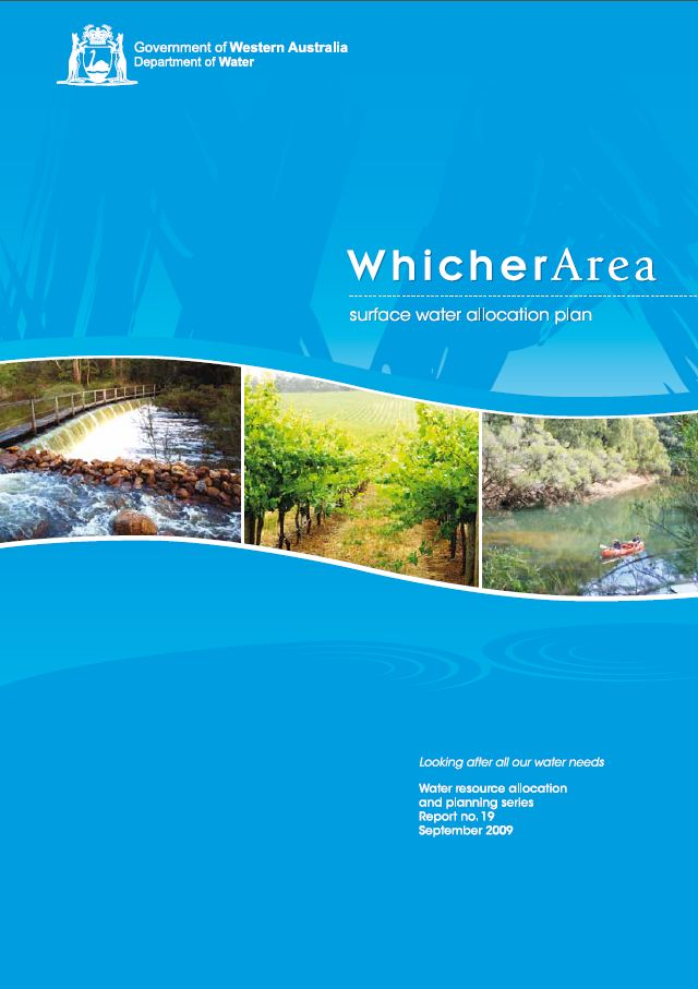 Whicher plan cover
