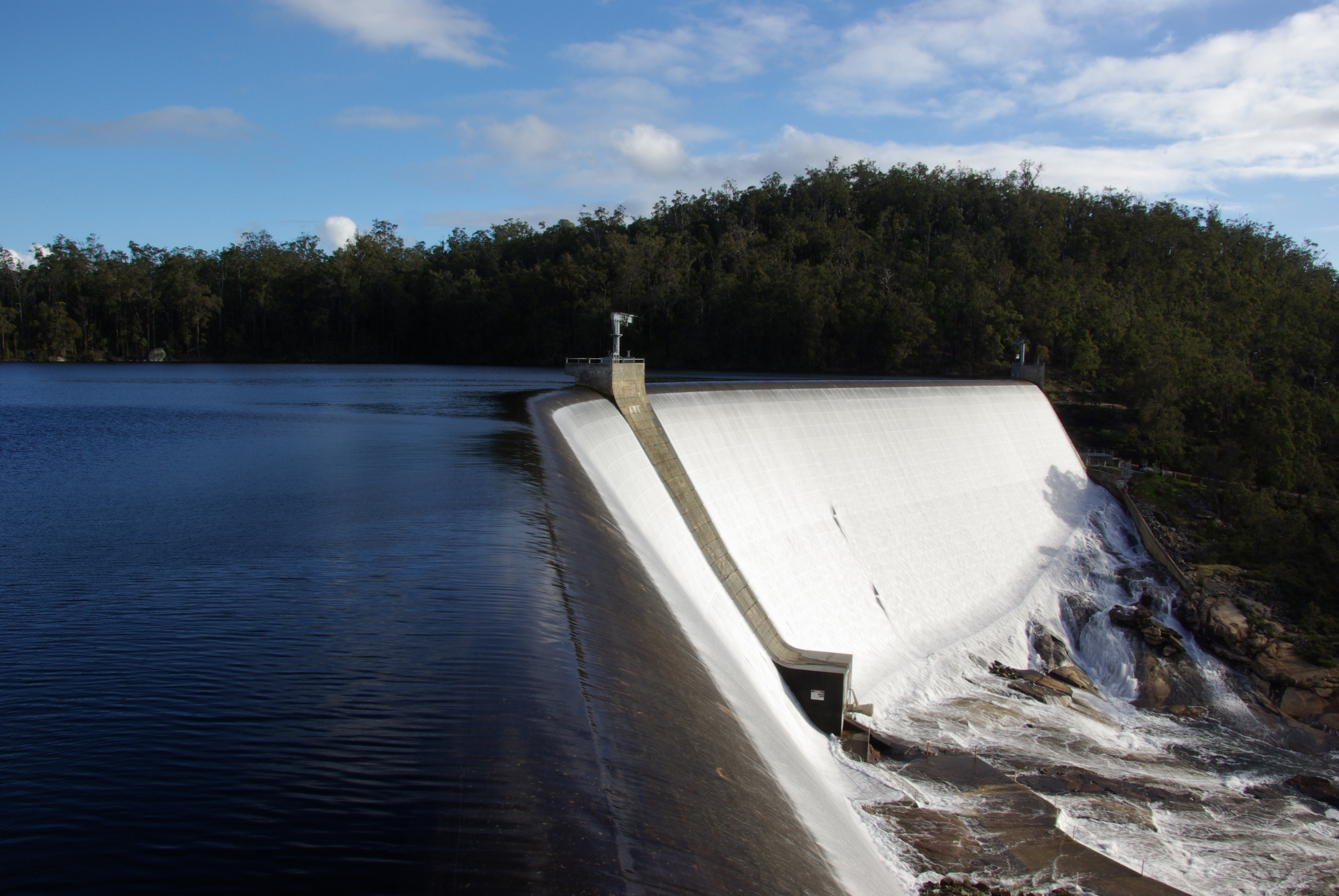 Wellington Reservoir on the Collie River