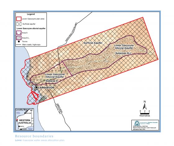 Lower Gascoyne plan area
