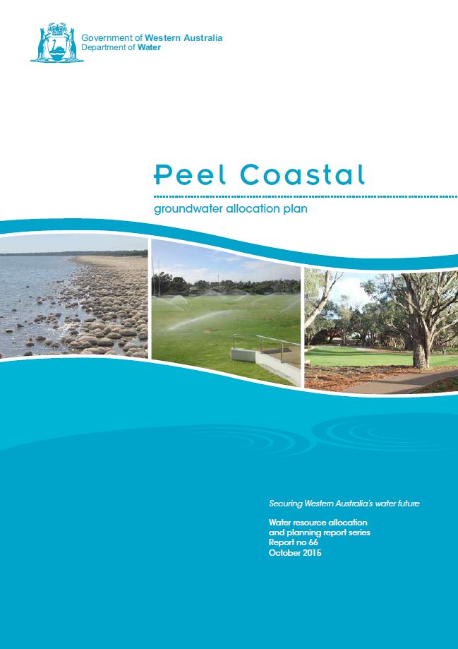 Peel Coastal plan cover