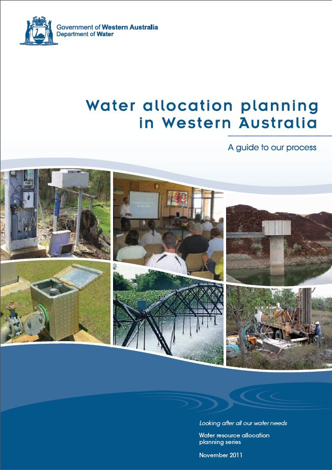 Water allocation planning guide