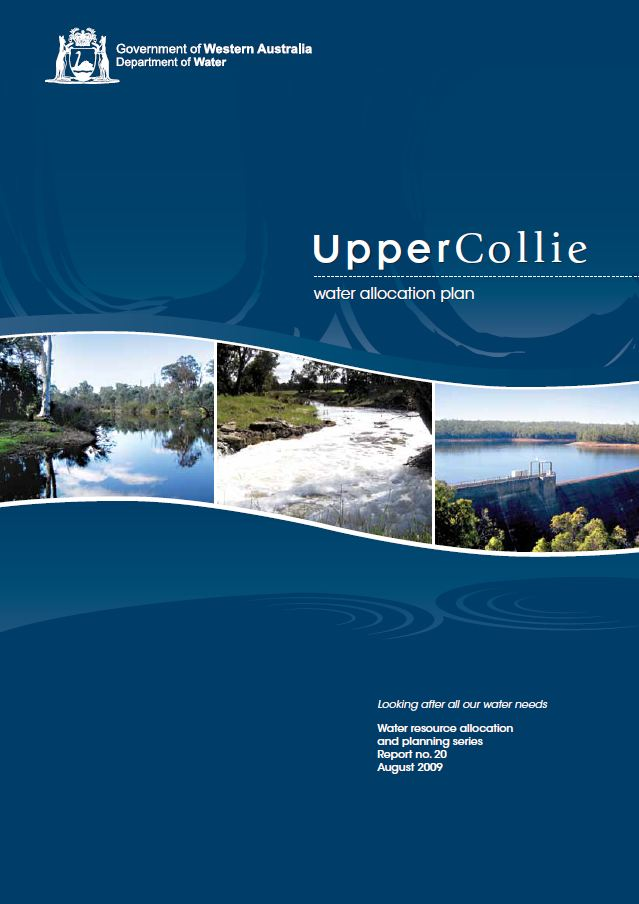 Upper Collie plan cover