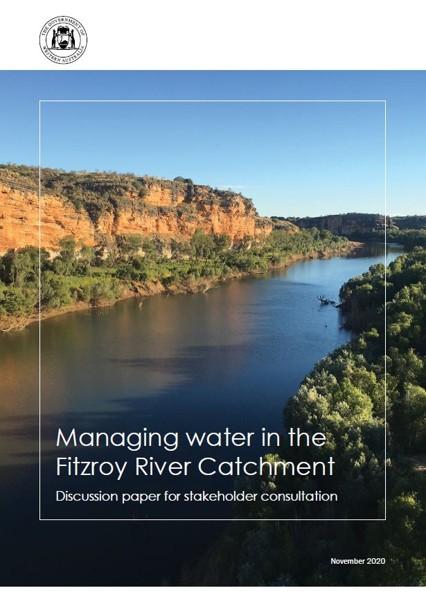 Water planning in the Fitzroy River catchment