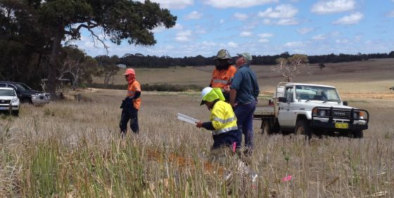 Albany Hinterland groundwater mapping