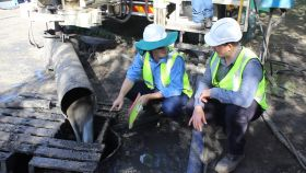 Pearsall Gnangara monitoring bore drilling