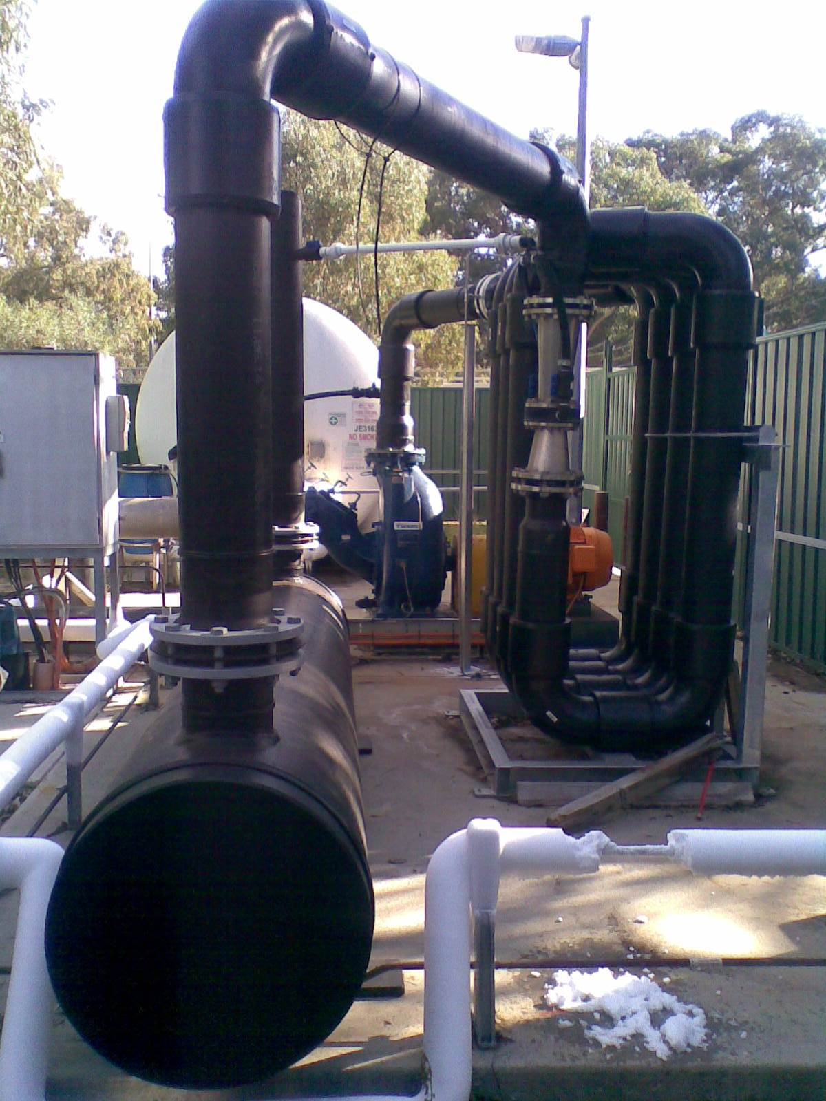 Guildford oxygenation plant dissolver