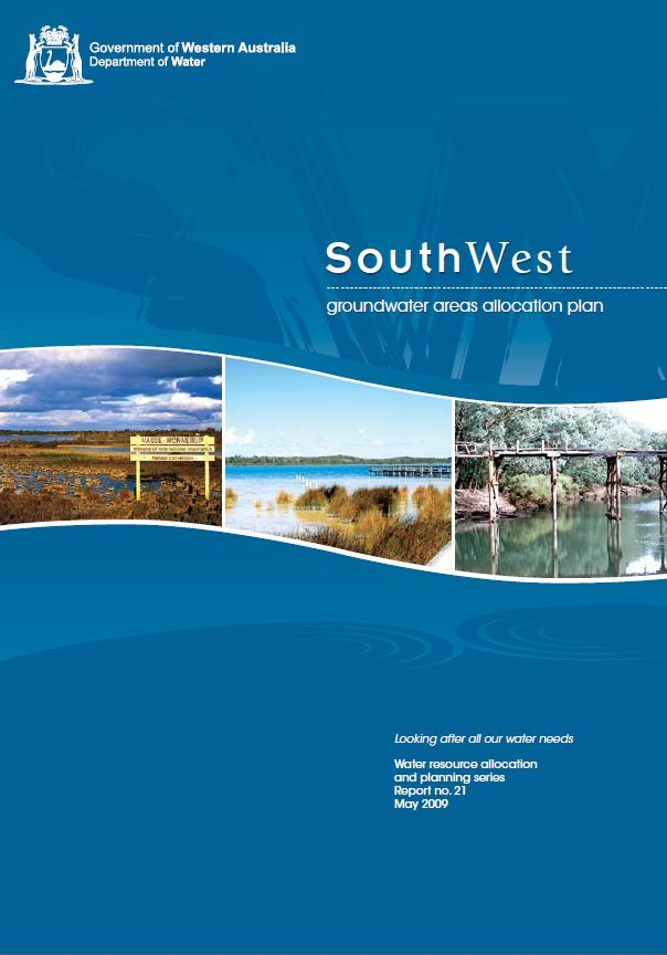 South West plan cover
